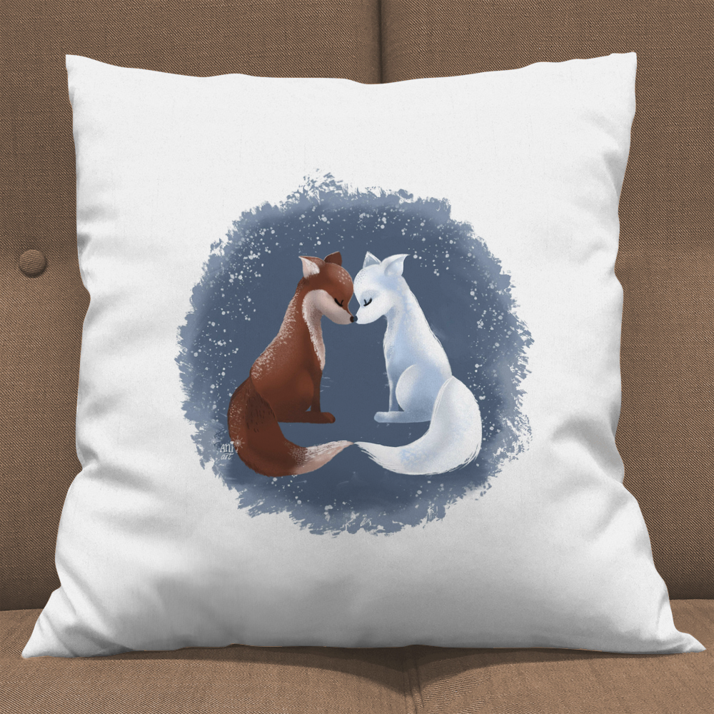 loving foxes by aniart
