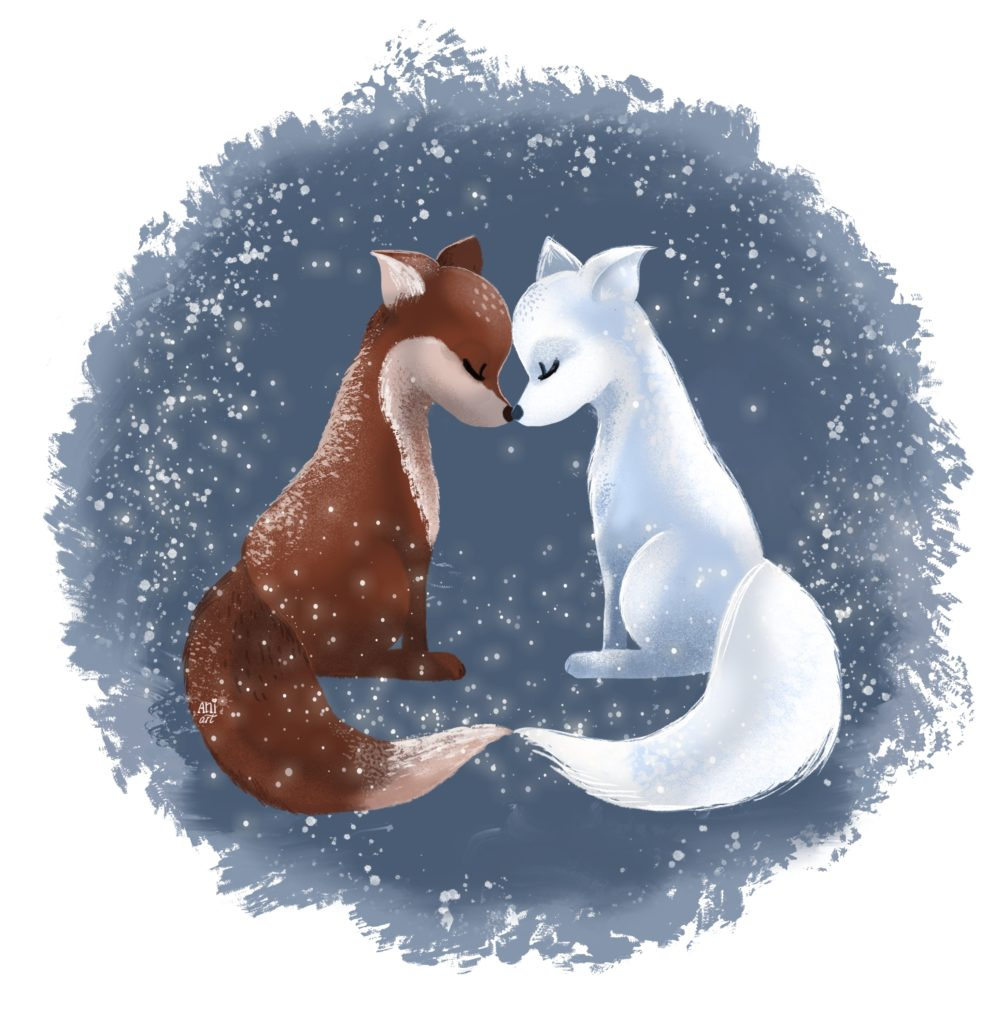 Loving foxes