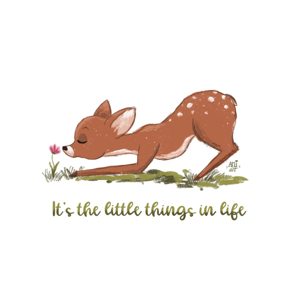 The little things byaniart